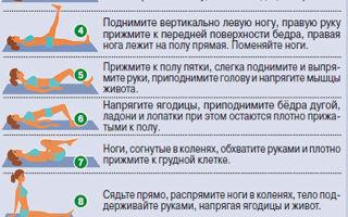 Зарядка при грыже позвоночника: последовательность, правила выполнения