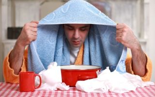 Ингаляции при сухом кашле в домашних условиях: рецепты и виды