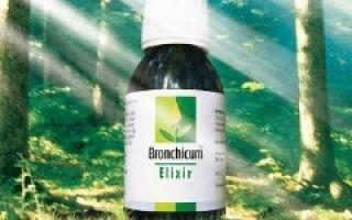 Бронхикум: инструкция по применению сиропа и пастилок от кашля