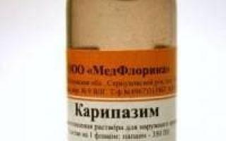 Как пользоваться Карипазимом при грыже позвоночника: механизм воздействия и правила лечения