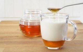 Молоко с медом от кашля: рецепты и правила приготовления