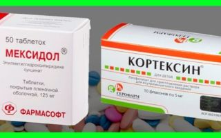Кортексин и Мидокалм — можно ли принимать одновременно?