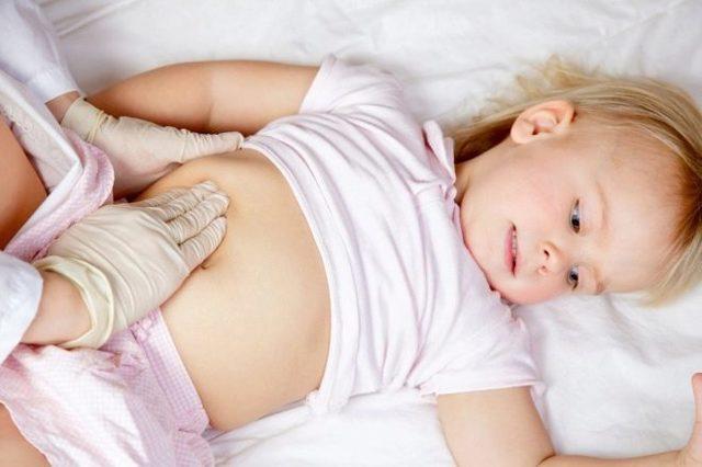 Почему у ребенка может быть увеличена печень и как нормализовать размер