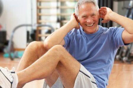 Упражнения при грыже живота