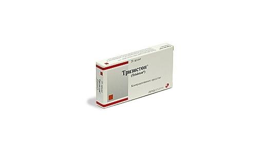 Таблетки Тризистон: инструкция по применению, цена и отзывы