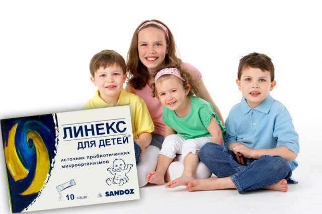 Порошок Линекс для детей: инструкция по применению, цена, отзывы и аналоги