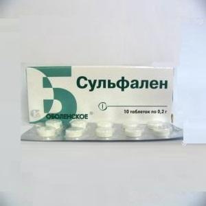 Таблетки Сульфален: инструкция по применению, цена и отзывы