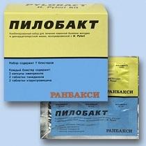 Пилобакт: инструкция по применению, цена, отзывы врачей и аналоги