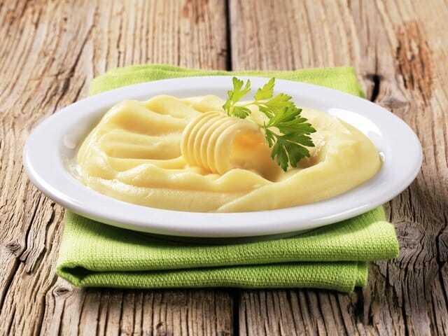 Картофельное пюре при диете рецепт