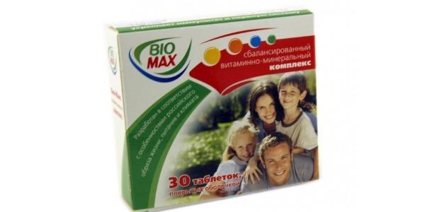 Поливитаминный комплекс Био-Макс: инструкция по применению, цена и отзывы