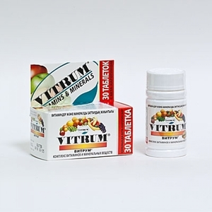 Витамины Витрум Перфоманс: отзывы, цены, инструкция по применению, состав