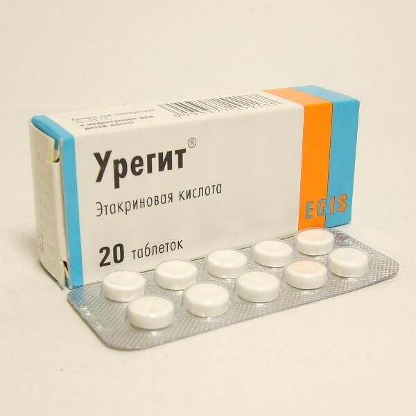 Таблетки Урегит: инструкция по применению, цена и отзывы