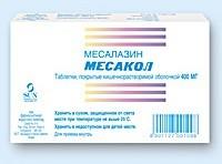 Месакол: инструкция по применению, цена и отзывы