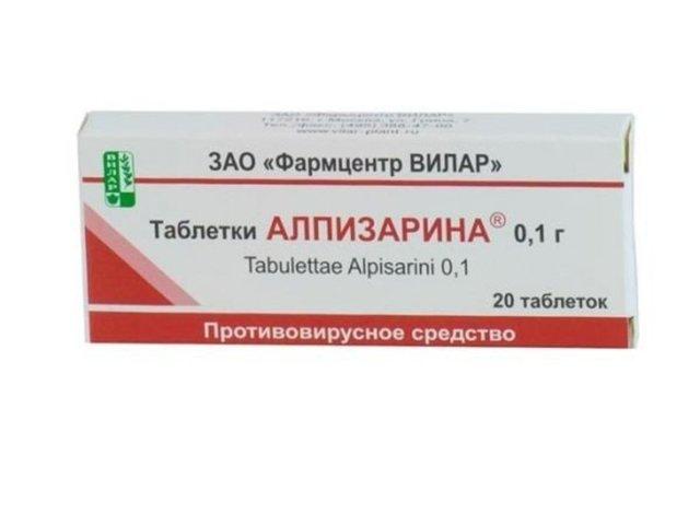 Мазь и таблетки Алпизарина: инструкция по применению, цена и отзывы