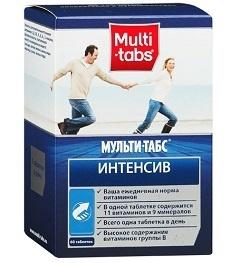 Витамины Мульти-Табс Интенсив: отзывы, цена, инструкция по применению