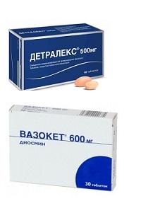 Вазокет: инструкция по применению, цена, отзывы врачей и аналоги
