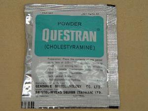 Холестирамин (Колестирамин): инструкция по применению, цена и отзывы