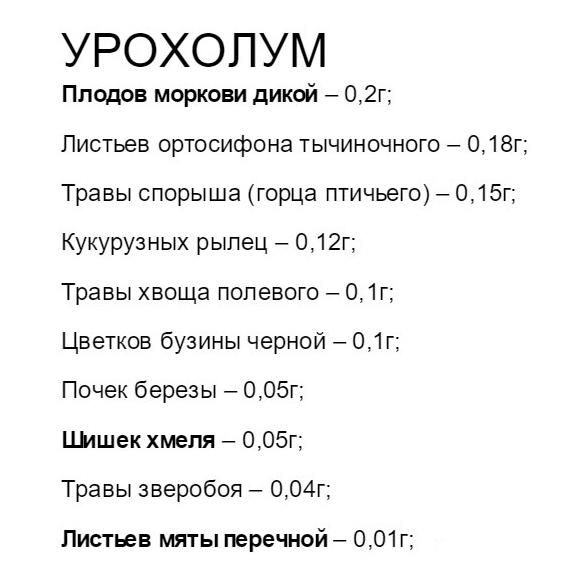 Капли Урохолум: инструкция по применению, цена и отзывы