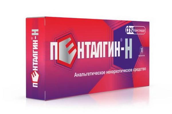 Пенталгин Н: инструкция по применению, состав, цена и отзывы