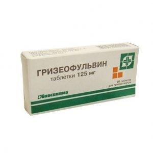 Мазь и таблетки Гризеофульвин: инструкция по применению, цена и отзывы