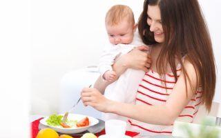Диета при грудном вскармливании, рацион питания кормящей матери новорожденного, таблица по месяцам