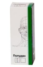 Раствор, назальные и глазные капли Полудан: инструкция по применению, цена, отзывы.