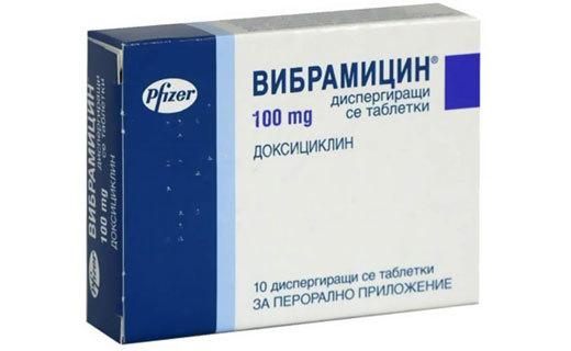 Вибрамицин: инструкция по применению, цена и отзывы