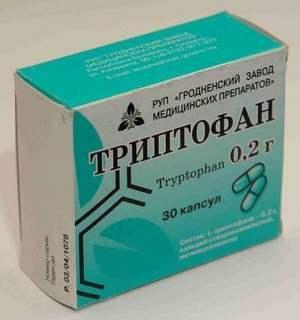 Инструкция на Триптофан: что это такое, цена, отзывы врачей, где купить