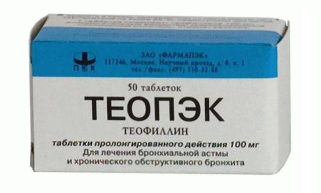 Эуфиллин при кашле: инструкция по применению и противопоказания