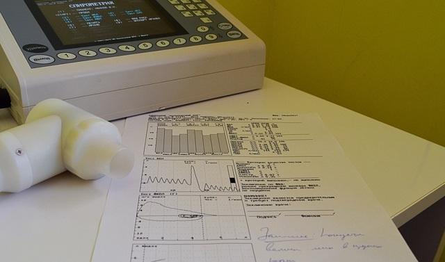 Спирография при бронхиальной астме: показатели и расшифровка