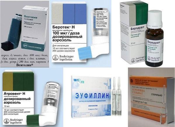 Лекарство от астмы: список лучших препаратов и таблеток