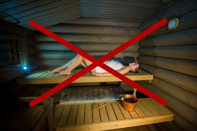 Можно ли при кашле ходить в баню: показания и противопоказания