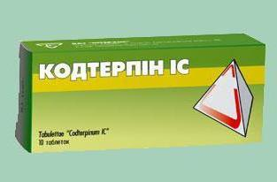 Терпинкод: инструкция по применению, состав и аналоги