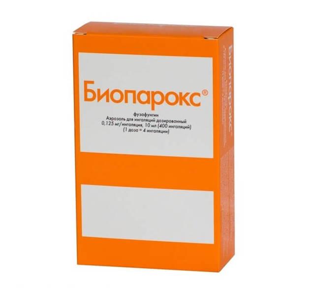 Спрей Биопарокс от кашля: правила пользования и противопоказания