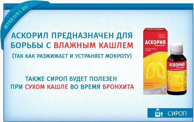 Сироп от кашля с сальбутамолом для детей: инструкция