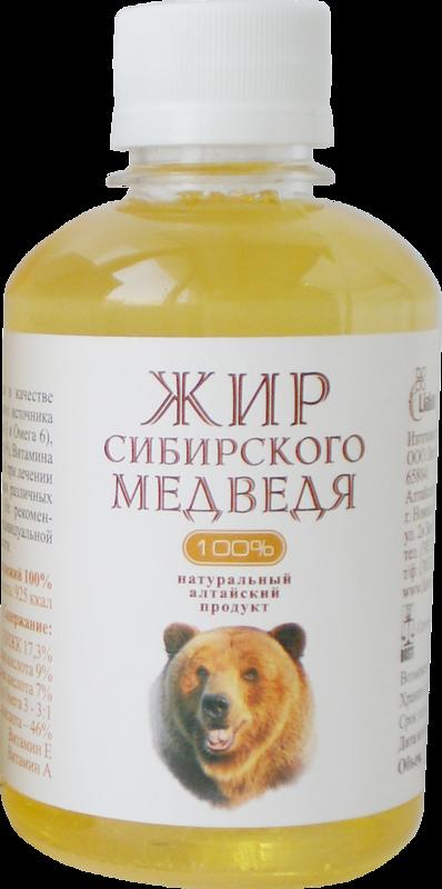 Медвежий жир от кашля или медвежье сало: как применять