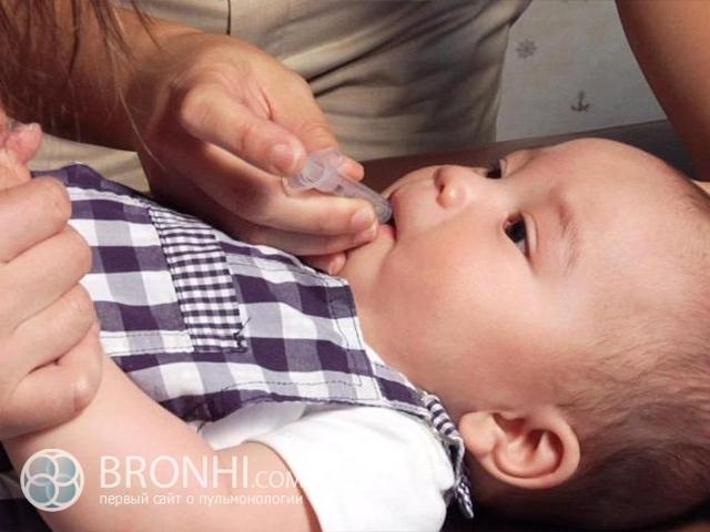 Антибиотики при бронхите у детей: особенности назначения